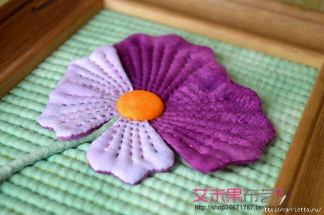 Текстильное панно с цветком (5) (650x432, 198Kb)