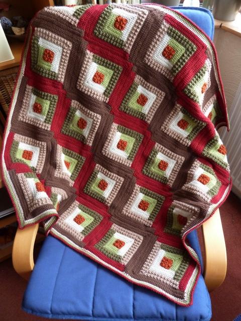 钩针:毯子 - maomao - 我随心动