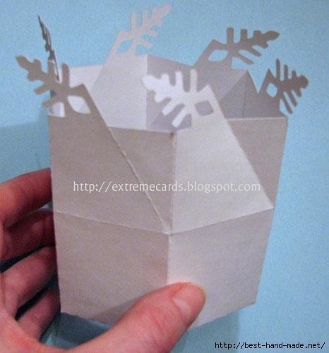 Как сделать коробку на новый год своими