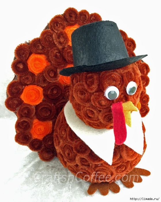 chenille-turkey-diy-angled (559x700, 259Kb)