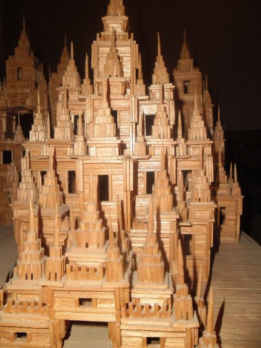 Часть 2 - замок из спичек