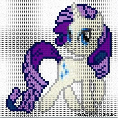 Мой маленький пони (вышивка)