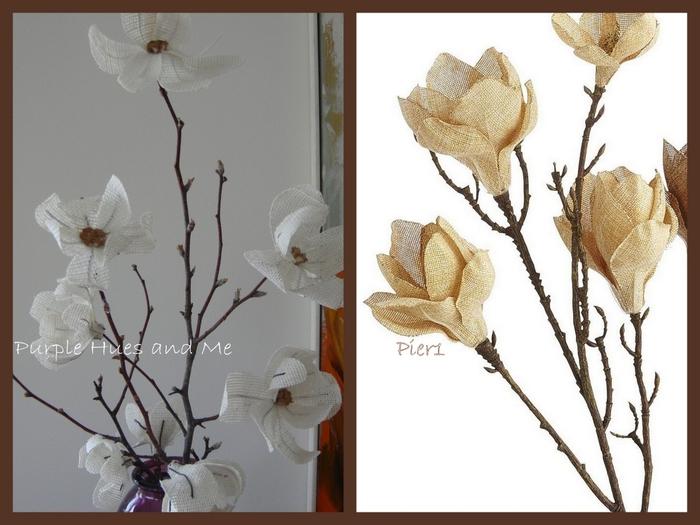 Цветы из мешковины. МАГНОЛИЯ (2) (700x525, 208Kb)