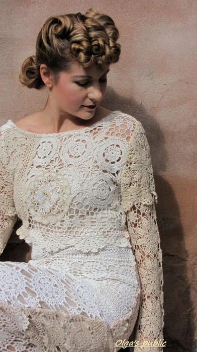 Свадебное платье от