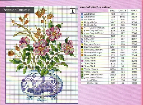 Цветы в вазе (500x366,