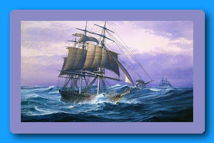 Отношения — они как корабль. Если не выдерживают маленькую бурю, нет смысла плыть в открытое море. (700x466, 99Kb)
