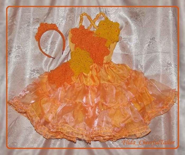 Платье своими руками для осеннего бала 182