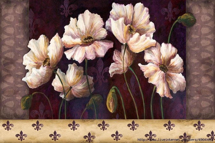 4964063_Plum_Poppies_A_36x24 (700x466, 307Kb)