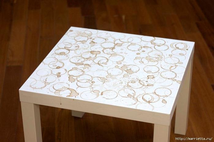 Мебель своими руками. Журнальный столик для любителей кофе (10) (700x465, 213Kb)