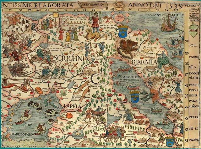 Фрагмент карты Биармия Biarmia. Carta Marina, 1539/4316166_biarmiya1_1_ (640x476, 138Kb)