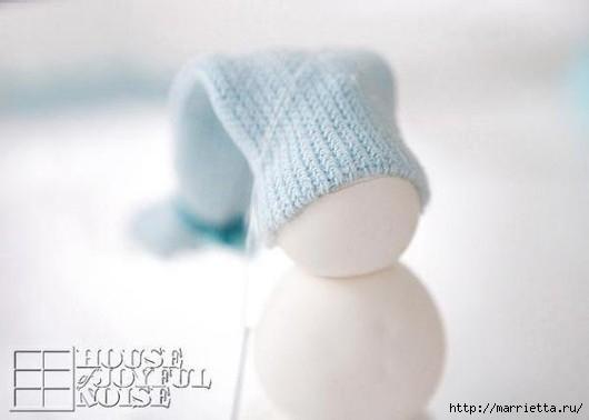 Снеговик из полимерной глины. Мастер-класс (5) (530x378, 63Kb)