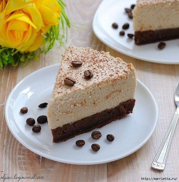 Кофейный торт (4) (596x604, 252Kb)