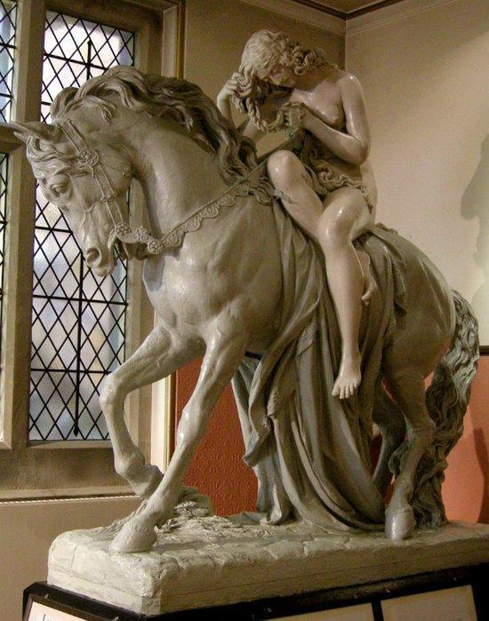 Lady Godiva statue by John Thomas (1813 – 1862), Maidstone Museum, Kent, England. (550x700, 87Kb)
