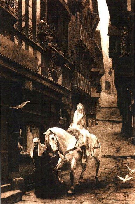 Jules Joseph Lefebvre. Lady Godiva. 1890. (462x700, 92Kb)