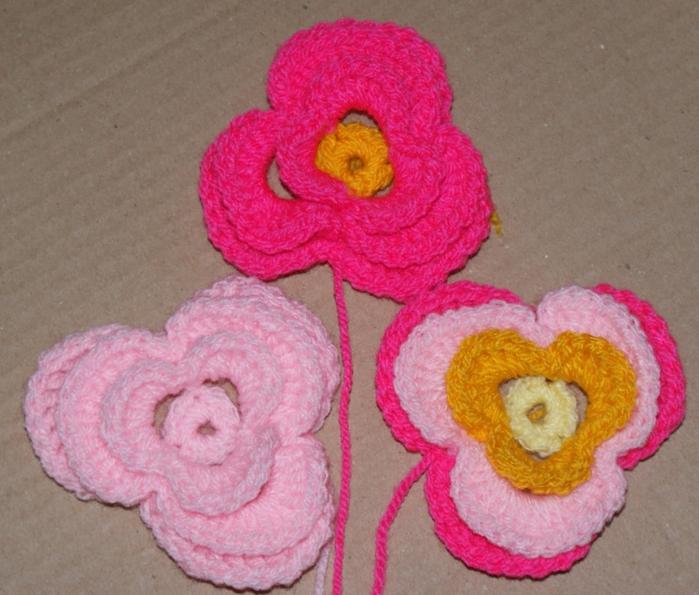 Трехуровневый цветок