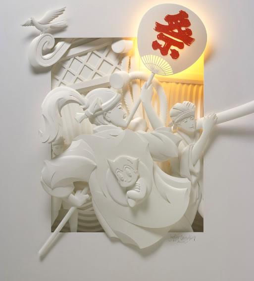 Utro.UA - Фото - Бумажный скульптор Jeff Nichinaka