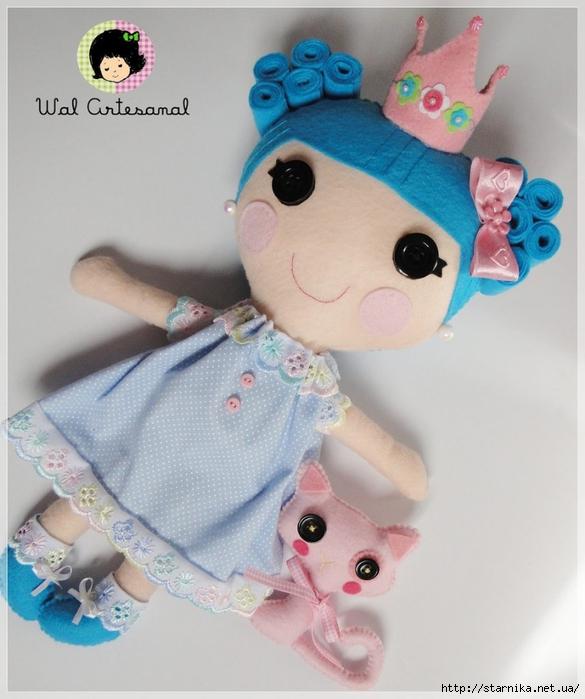 Сшить куклу лалалупси своими руками мастер класс