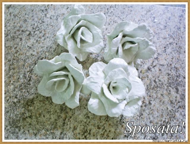 красота из картона- цветы из яичных лотков (89) (640x487, 239Kb)