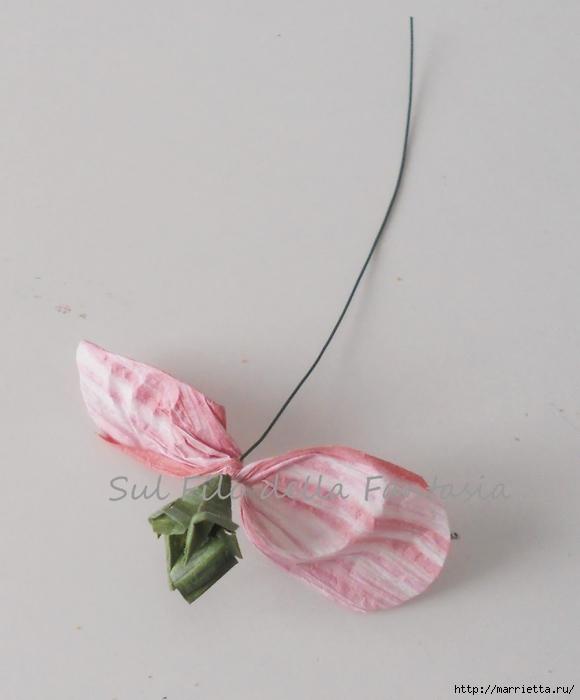 Ароматные корзиночки. Одежка для мыла из бумажной рафии (12) (580x700, 158Kb)