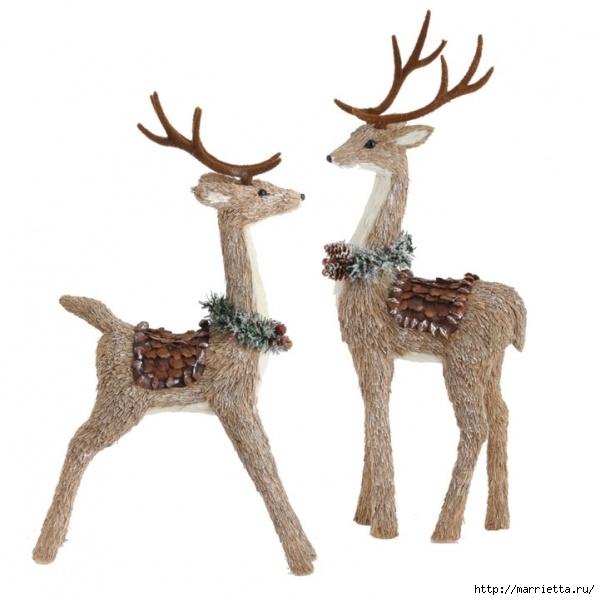 Смотрим идеи использования шишек для украшения новогоднего интерьера.