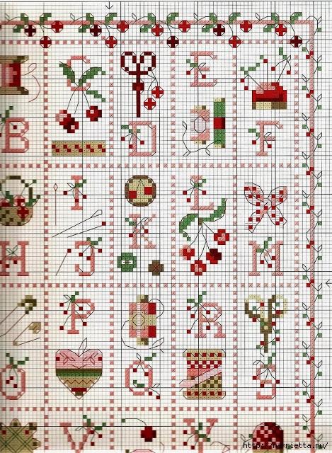 Вышивка крестом на швейную тематику (3) (469x640, 367Kb)