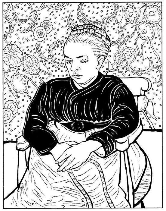 La Berceuse Augustine Roulin 1889 (552x700, 298Kb)