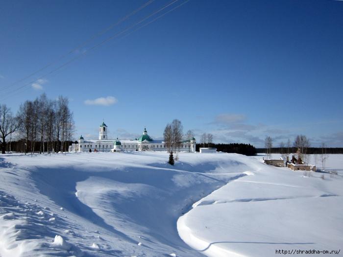 Монастырь Свирского, зима (700x525, 239Kb)