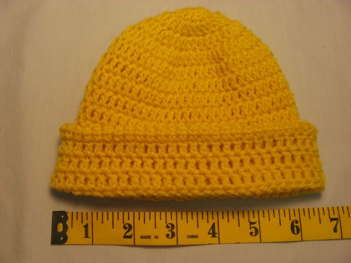 Связать шапку крючком