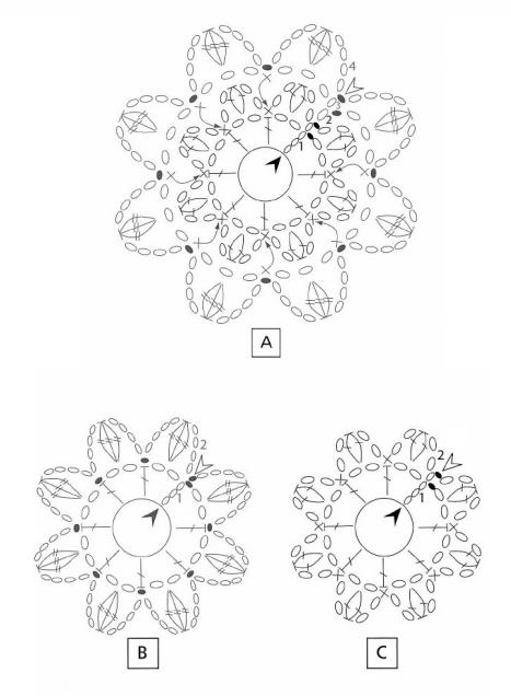 Вязание крючком. Схемы (5) (467x636, 133Kb)