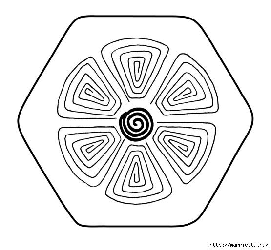 Подставки под горячее из фетра с вышивкой (2) (555x513, 119Kb)