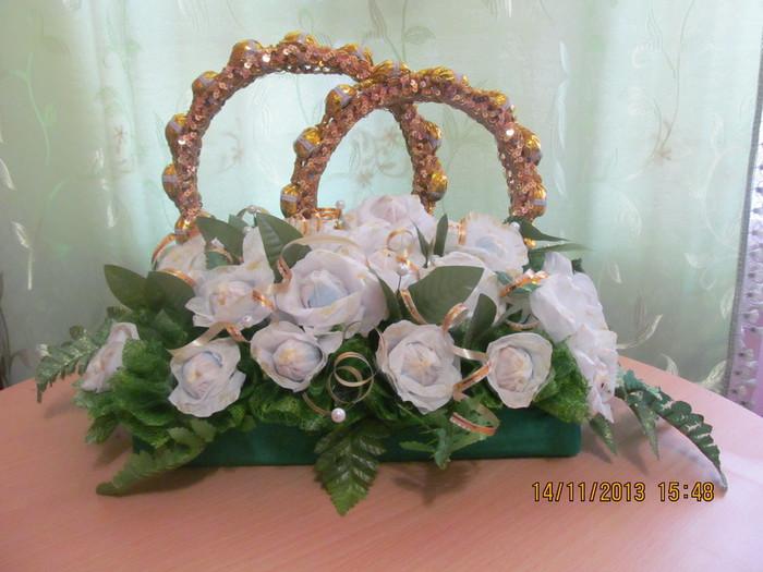 Подарки из гофрированной бумаги на свадьбу 881