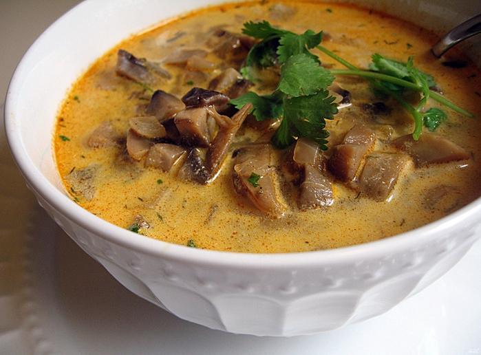 Суп грибной на говяжьем бульоне рецепты