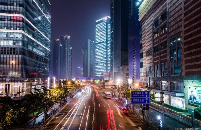 пешеходный мост в шанхае китай 5 (700x455, 311Kb)