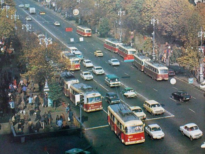 Київ. Хрещатик. 1986