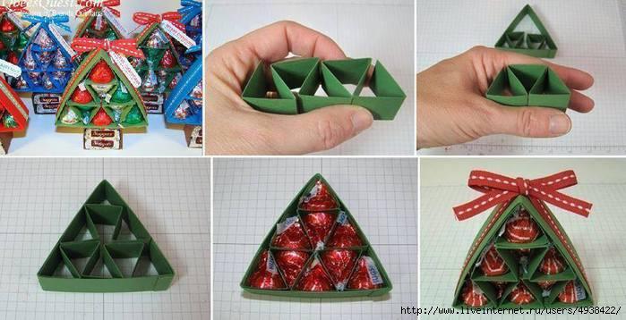 Упаковки для конфет своими руками