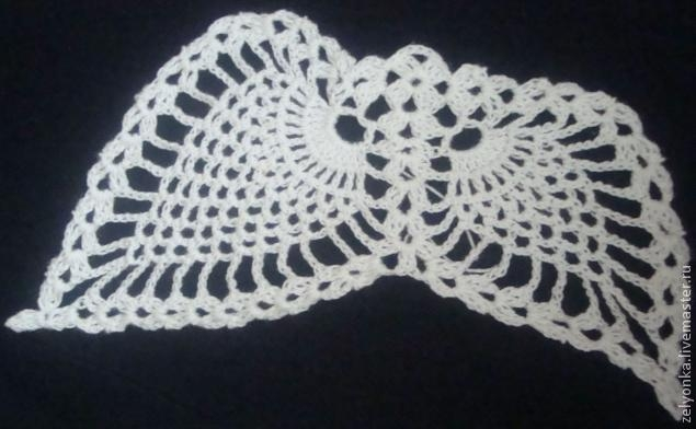 мотив для вязания крылья ангела