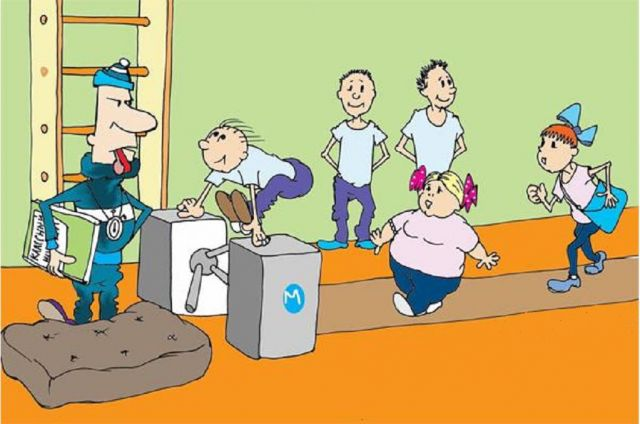 Смешные сценки о спорте для школьников