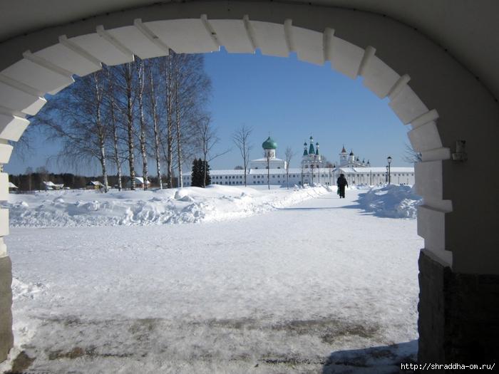 Монастырь Свирского, зима (700x525, 272Kb)