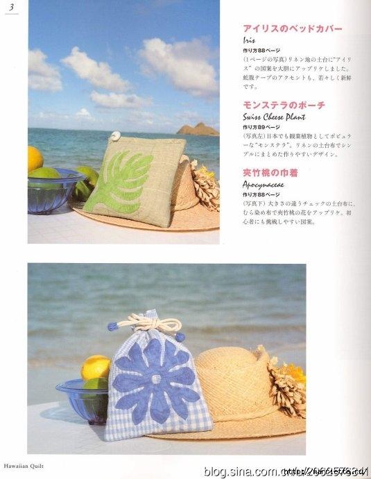 ГАВАЙСКИЙ КВИЛТ. Японский журнал со схемами (3) (535x690, 156Kb)