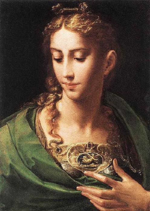 Pallas Athene, by Girolamo Francesco Mazzola (496x700, 62Kb)
