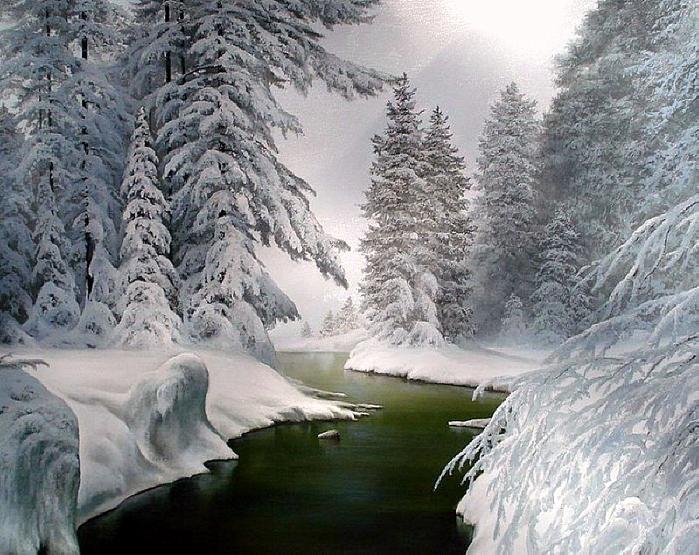 Снежная река - Надежда Андреевна Тихонова.