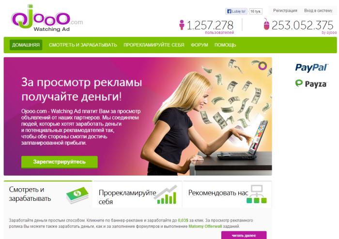 ОЗНАЧАЕТ заработать на просмотрах рекламы компания Gonso наряду