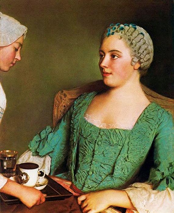 Jean-Étienne Liotard1702-1789 La Prima Colazione 1754 (571x700, 322Kb)