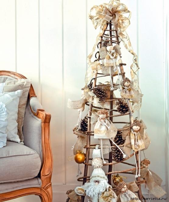 Ангелочки из пенопластовых шариков для новогодней елочки (2) (555x663, 212Kb)