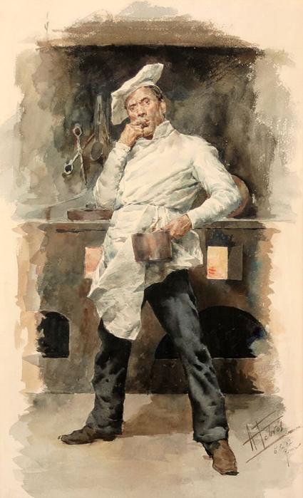Antonio Maria Fabres y Costa (Spanish 1854-1936) (425x700, 252Kb)