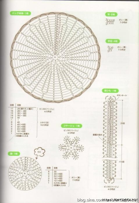 Игрушки АМИГУРАМИ крючком. Журнал со схемами (21) (478x700, 249Kb)