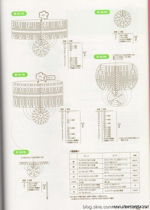 Игрушки АМИГУРАМИ крючком. Журнал со схемами (45) (501x700, 253Kb)