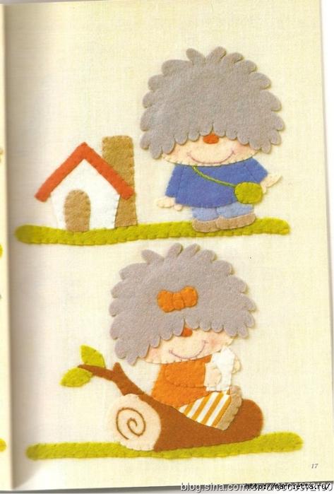 Аппликация с вышивкой для детских вещей. Японский журнал (9) (473x700, 229Kb)
