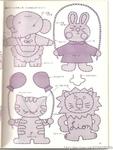 Превью Аппликация с вышивкой для детских вещей. Японский журнал (48) (528x700, 241Kb)