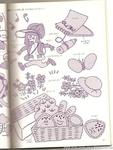 Превью Аппликация с вышивкой для детских вещей. Японский журнал (68) (528x700, 251Kb)